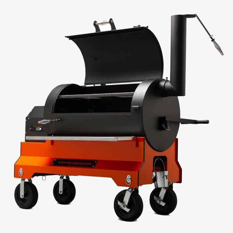 Yoder Smoker YS1500S Orange